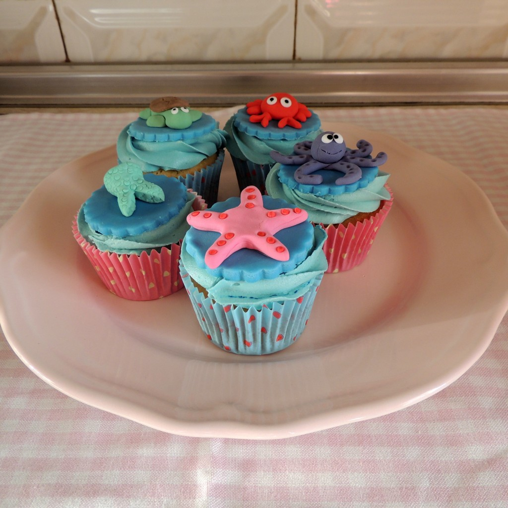 Little Mermaid Cupcakes 1